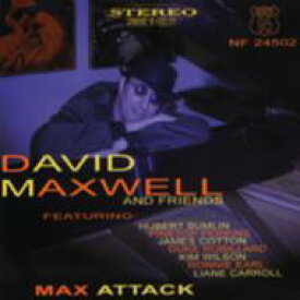 David Maxwell / Max Attack 輸入盤 【CD】