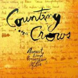 Counting Crows カウンティングクロウズ / August And Everything After 輸入盤 【CD】