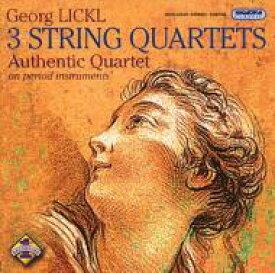 【送料無料】 リックル、ゲオルク(1769-1843) / String Quartet, 1.2, 3, : Authentic Q 輸入盤 【CD】