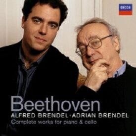 【送料無料】 Beethoven ベートーヴェン / チェロ・ソナタ全集、変奏曲集 エイドリアン・ブレンデル、アルフレート・ブレンデル(2CD) 輸入盤 【CD】