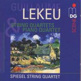【送料無料】 Lekeu ルクー / ピアノ四重奏曲、弦楽四重奏曲 Spiegel.sq、Michiels(P) 輸入盤 【CD】