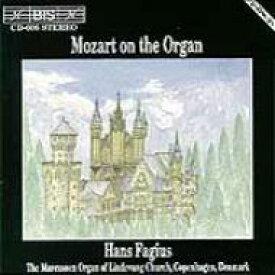 【送料無料】 Mozart モーツァルト / Organ Works: Fagius 輸入盤 【CD】