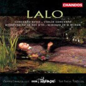【送料無料】 Lalo ラロ / ラロ:序曲「イスの王」、ヴァイオリン協奏曲ヘ長調他 トルトゥリエ/BBCフィル 輸入盤 【CD】