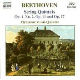 Beethoven ベートーヴェン / <弦楽五重奏曲集1(カール・キムによる編曲集)> メタモルフォーシス五重奏団 輸入盤 【CD】