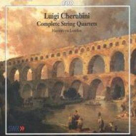 【送料無料】 Cherubini ケルビーニ / <弦楽四重奏曲全集> ハウスムジーク(ロンドン) 輸入盤 【CD】