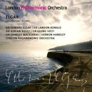 【送料無料】 Elgar エルガー / 主要オーケストラ作品集 ショルティ、ボールト、エルガー、他 LPO(5CD) 輸入盤 【CD】