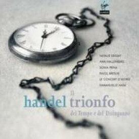 【送料無料】 Handel ヘンデル / オラトリオ『時と悟りの勝利』 HWV.46a アイム&ル・コンセール・ダストレイ、デセイ 輸入盤 【CD】
