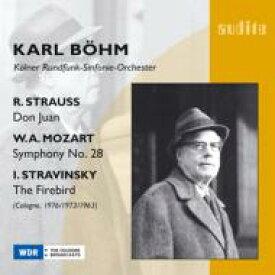 Stravinsky ストラビンスキー / ストラヴィンスキー:『火の鳥』組曲、R.シュトラウス:『ドン・ファン』、他 ベーム&ケルン放送交響楽団 輸入盤 【CD】
