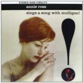 【送料無料】 Annie Ross / Gerry Mulligan / Sings A Song With Mulligan 【LP】