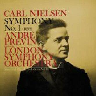 Nielsen尼尔森/尼尔森:交响曲第1个,hachatorian:钢琴协奏曲,其他Previn&伦敦交响乐团,horanda(钢琴)皇家·菲尔