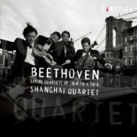 【送料無料】 Beethoven ベートーヴェン / 弦楽四重奏曲第4、5、6番 上海クァルテット 【CD】