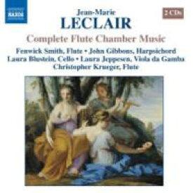 【送料無料】 Leclair ルクレール / フルートを含む室内楽曲全集 スミス(fl)ギボンズ(cemb)、他(2CD) 輸入盤 【CD】
