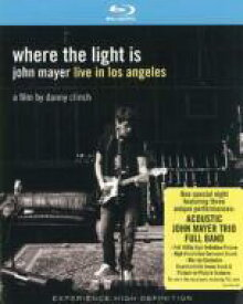 John Mayer ジョンメイヤー / Where The Light Is: Live In Los Angeles 【BLU-RAY DISC】