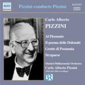 ピッツィーニ、カルロ・アルベルト(1905-1981) / 自作自演集 ピッツィーニ&ミュンヘン・フィル 輸入盤 【CD】