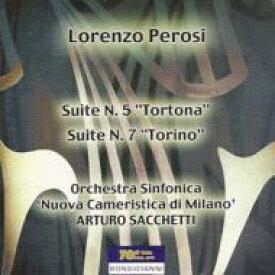 【送料無料】 ペロージ、ロレンツォ(1872-1956) / 組曲第5番『トルトーナ』、組曲第7番『トリノ』 サッケッティ&ミラノ・ヌオーヴァ・カメリスティカ交響楽団 輸入盤 【CD】