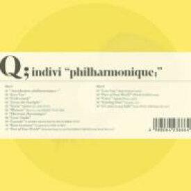"""【送料無料】 Q;indivi キューインディビ / """"philharmonique; """" 【CD】"""