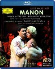 Massenet マスネ / 『マノン』全曲 パターソン演出、バレンボイム&ベルリン国立歌劇場、ネトレプコ、ビリャソン、他(2007 ステレオ) 【BLU-RAY DISC】