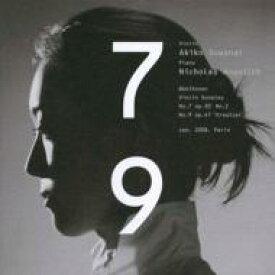 【送料無料】 Beethoven ベートーヴェン / ヴァイオリン・ソナタ第7番、第9番 諏訪内晶子、アンゲリッシュ(SHM−CD限定盤) 【SHM-CD】