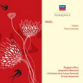 Ravel ラベル / ピアノ協奏曲、左手のためのピアノ協奏曲、ツィガーヌ ブランカール、リッチ、アンセルメ&スイス・ロマンド管 輸入盤 【CD】