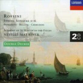 Rossini ロッシーニ / 弦楽のためのソナタ第1〜6番 マリナー&ASMF(2CD) 輸入盤 【CD】
