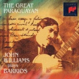 【送料無料】 Barrios バリオス / The Great Paraguayan: J.williams Guitar 【CD】
