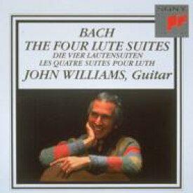 【送料無料】 Bach, Johann Sebastian バッハ / Comp.lute Works On Guitar: J.williams 【CD】