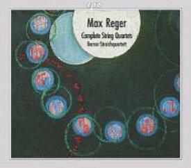 【送料無料】 Reger レーガー / 弦楽四重奏曲全集 ベルン弦楽四重奏団 輸入盤 【CD】