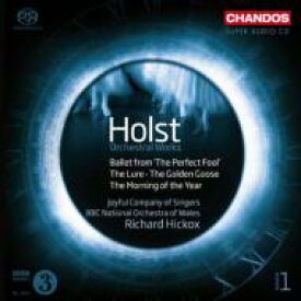 【送料無料】 Holst ホルスト / 管弦楽作品集第1集 ヒコックス&BBCウェールズ・ナショナル管弦楽団 輸入盤 【SACD】