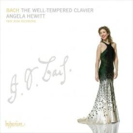 【送料無料】 Bach, Johann Sebastian バッハ / 平均律クラヴィーア曲集全曲 アンジェラ・ヒューイット(2008)(4CD) 輸入盤 【CD】