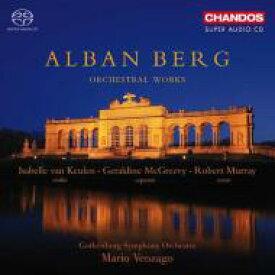 【送料無料】 Berg ベルク / 管弦楽曲集(ヴァイオリン協奏曲、3つの小品、『ヴォツェック』からの断章、他) ヴェンツァーゴ&エーテボリ響、クーレン 輸入盤 【SACD】