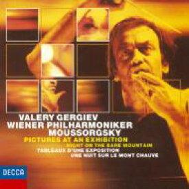 Mussorgsky ムソルグスキー / 展覧会の絵、禿山の一夜、他 ゲルギエフ&ウィーン・フィル 【CD】