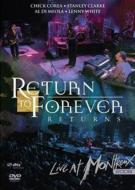 Return To Forever リターントゥフォーエバー / Live At Montreux 2008 【DVD】