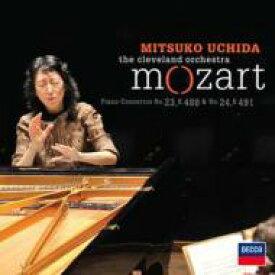 Mozart モーツァルト / ピアノ協奏曲第23、24番 内田光子&クリーヴランド管弦楽団 輸入盤 【CD】
