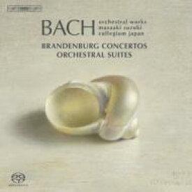 【送料無料】 Bach, Johann Sebastian バッハ / ブランデンブルク協奏曲全曲(2008新録音)、管弦楽組曲全曲 鈴木雅明&バッハ・コレギウム・ジャパン(3SACD) 輸入盤 【SACD】