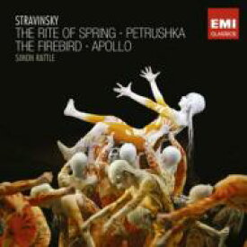 Stravinsky ストラビンスキー / 春の祭典、ペトルーシュカ、火の鳥、ミューズを司るアポロ ラトル&バーミンガム市交響楽団(2CD) 輸入盤 【CD】