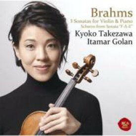 【送料無料】 Brahms ブラームス / Violin Sonata, 1, 2, 3, Etc: 竹澤恭子(Vn) Golan(P) 【CD】