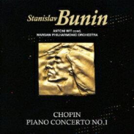 【送料無料】 Chopin ショパン / ピアノ協奏曲第1番、マズルカ第5番 ブーニン、ヴィット&ワルシャワ・フィル(2009) 【Hi Quality CD】