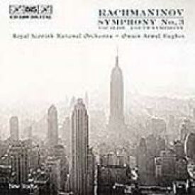 【送料無料】 Rachmaninov ラフマニノフ / Sym.3, Youth Sym.vocalise: Hughes / Royal Scottish National.o 輸入盤 【CD】