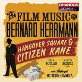 【送料無料】 Bernard Herrmann バーナードハーマン / 映画『戦慄の調べ』の音楽、『市民ケーン』の音楽 ガンバ&BBCフィル 輸入盤 【CD】