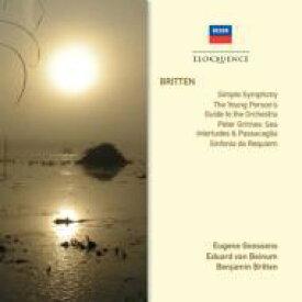 Britten ブリテン / 管弦楽曲集 ベイヌム&コンセルトヘボウ管、グーセンス&ロンドン新響、ブリテン&デンマーク国立放送響 輸入盤 【CD】