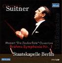 【送料無料】 Brahms/Mozart / ブラームス:交響曲第1番、モーツァルト:《魔笛》序曲 スイトナー指揮シュターツカペ…
