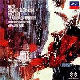 【送料無料】 Bartok バルトーク / 管弦楽のための協奏曲、舞踏組曲、『中国の不思議な役人』組曲 ショルティ&ロンドン響(シングルレイヤー)(限定盤) 【SACD】
