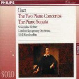 Liszt リスト / Piano Concertos.1, 2: S.richter, Kondrashin / Lso 輸入盤 【CD】