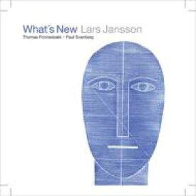 Lars Jansson ラーシュヤンソン / What's New 【CD】