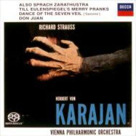 【送料無料】 Strauss, R. シュトラウス / ツァラトゥストラはかく語りき、ドン・ファン、他 カラヤン&ウィーン・フィル(シングルレイヤー)(限定盤) 【SACD】