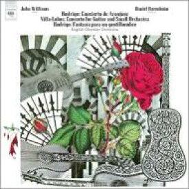 Rodrigo ロドリーゴ / ロドリーゴ:アランフェス協奏曲、ある貴紳のための幻想曲、ヴィラ=ロボス:ギター小協奏曲 ウィリアムス、バレンボイム&イギリス室内管、他 輸入盤 【CD】