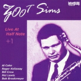 Zoot Sims ズートシムズ / Live At The Half Note + 1 【CD】