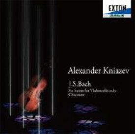 【送料無料】 Bach, Johann Sebastian バッハ / 無伴奏チェロ組曲全曲、シャコンヌ(チェロ版) クニャーゼフ(1996)(3CD) 【CD】