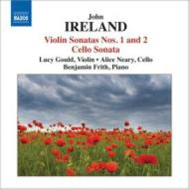 アイアランド (1879-1962) / ヴァイオリン・ソナタ第1番、第2番、チェロ・ソナタ L.グールド、ニアリー、フリス 輸入盤 【CD】
