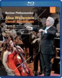 ヨーロッパ・コンサート2010(ブラームス:交響曲第1番、エルガー:チェロ協奏曲、他) バレンボイム&ベルリン・フィル、ワイラースタイン 【BLU-RAY DISC】